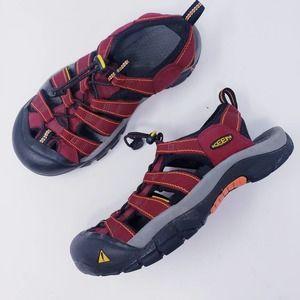 Keen Newport H2 Waterproof Sandals Red Women's 6.5